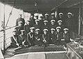 Адмирал Канин и его штаб на палубе посыльного судна «Кречет» (июль 1916).jpg