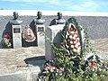 Братська могила радянських воїнів, серед яких похований Титов О. С., с. Титове, Більмацький район, Запорізька область.jpg