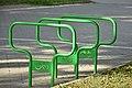 Велоінфраструктура Тернополя - Велопарковка у сквері на вулиці В'ячеслава Чорновола - 17097810.jpg