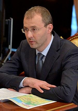 Roman Kopin - Image: Губернатор Чукотского автономного округа Роман Копин