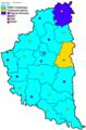 Дотермінові вибори в Тернопільську облраду 2009. Результати по районах.PNG