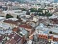 Забудова міста Львова з висоти міської вежі.jpg