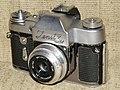 Зенит-3М с кронштейном для фотовспышки.JPG
