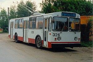 VMZ (Vologodskiy mechanical plant) - Image: Ивановский троллейбус № 326