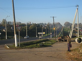 Plavsky District - Road from Moscow, Plavsky District