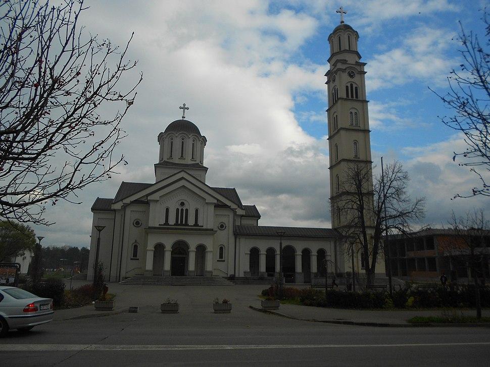 Саборна црква у Бијељини
