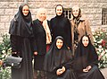 Сестры Зоя Екенина и София Федина среди монахинь в г. Новосибирск.jpg
