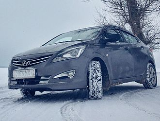 Automotive industry in Russia - Hyundai Solaris, the first foreign car to top Russian sales chart