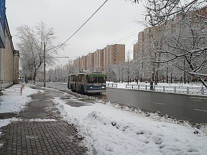 How to get to Зелёный Проспект with public transit - About the place