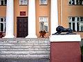 Фрагмент парадного крыльца входа в министерство культуры Карелии..JPG