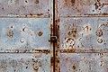 """בית הקברות תר""""ן (הישן) - פרט מדלת הכניסה הראשית.jpg"""
