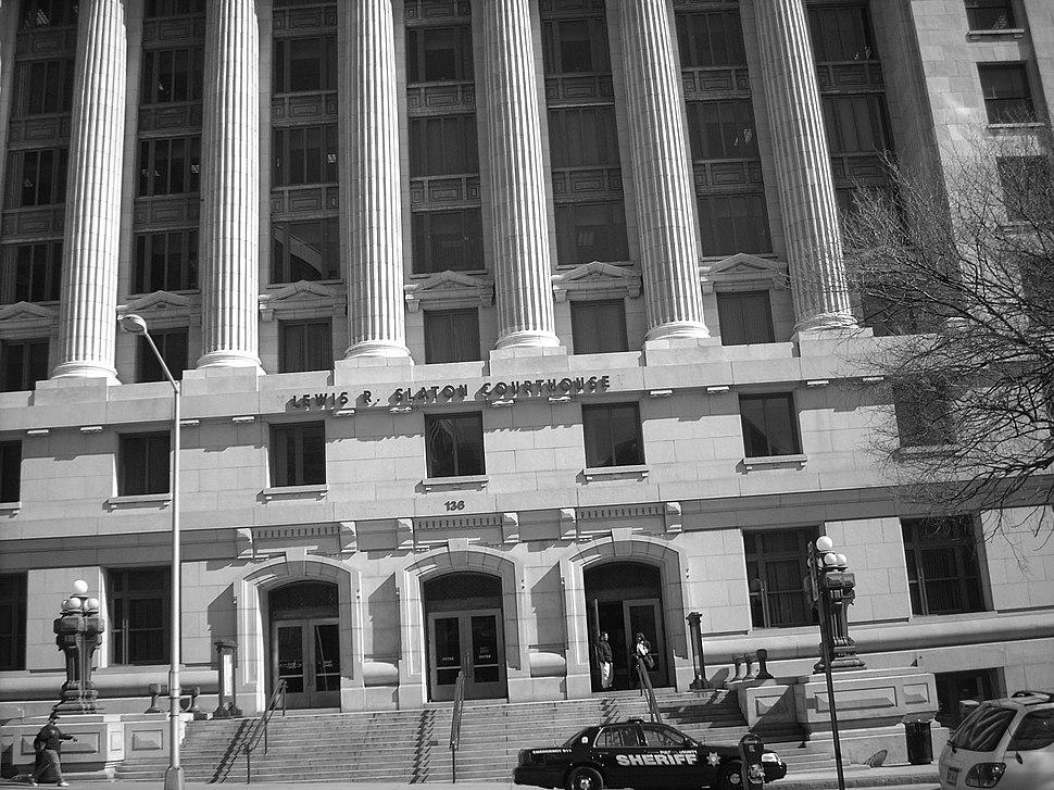 בניין בית המשפט באטלנטה 12 במרץ 2008