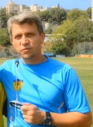 Jan Talesnikov - Talesnikov as Beitar Jerusalem assistant coach, 2012