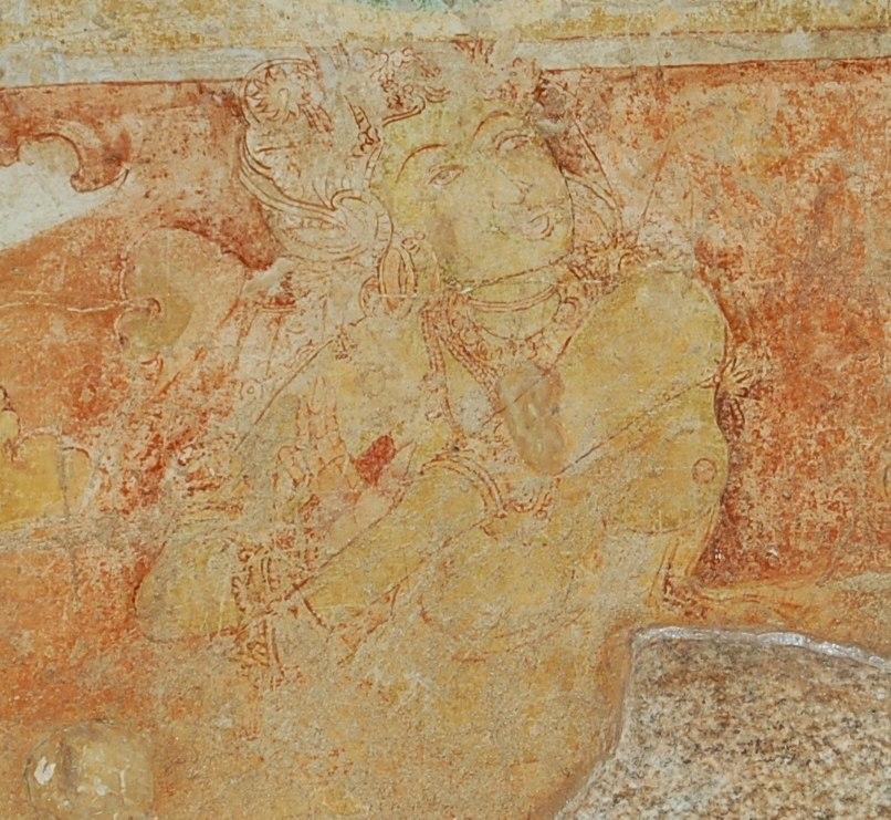 அரிய சித்தன்னவாசல் ஒவியம் (Rare Siththanna Vaasal Painting)