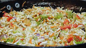 Puffed rice - Spiced puffed rice