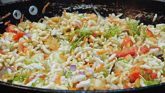 Puffed rice - Spiced puffed rice