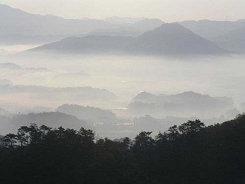 河合隼雄の故郷、篠山市(篠山盆地)Wikipediaより