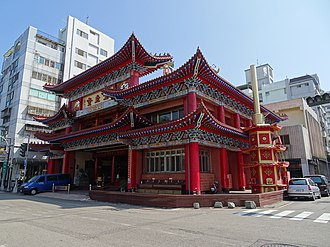 Chinese salvationist religions - ② The Luanist Rebirth Church (重生堂 Chóngshēngtáng) in Taichung, Taiwan.