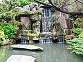 龍山寺人工瀑 Artificial Waterfalls in Longshan Temple - panoramio.jpg