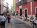 박물관 앞의 학생들 Street View Guanajuato Mexico - panoramio.jpg