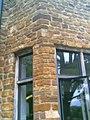 -2005-06-27 Sandstone mullion, Fawsley Hall, Northamptonshire (2).JPG