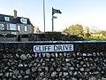 -2018-12-17 Street name sign, Cliff Drive, Cromer.JPG