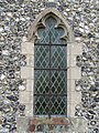 -2019-02-21 Window, Parish church of Saint John the Baptist's head, Trimingham (5).JPG