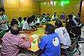 -Collaboration Meeting, Bangladesh and Indian Wikimedian2 - Bengali Wikipedia 10th Anniversary Celebration - Daffodil International University - Dhaka 2015-05-30 1761.jpg