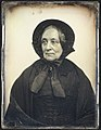 -Elderly Woman in Black Cape and Bonnet with Mourning Crape- MET 37.14.17.jpg