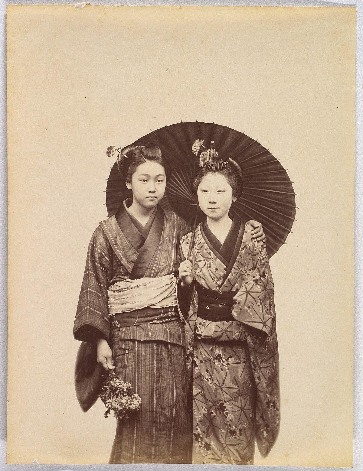 Kimono - Simple English Wikipedia, the free encyclopedia