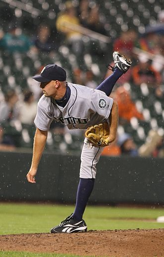 David Aardsma - Aardsma during his tenure with the Seattle Mariners in 2009