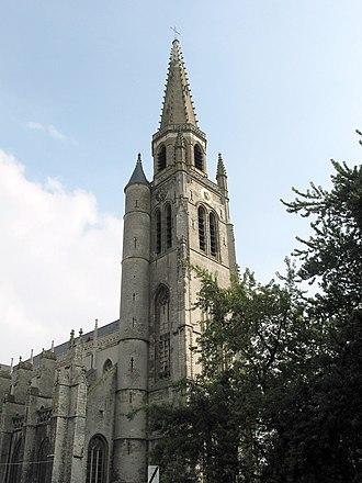 Wervik - Saint Medardus church