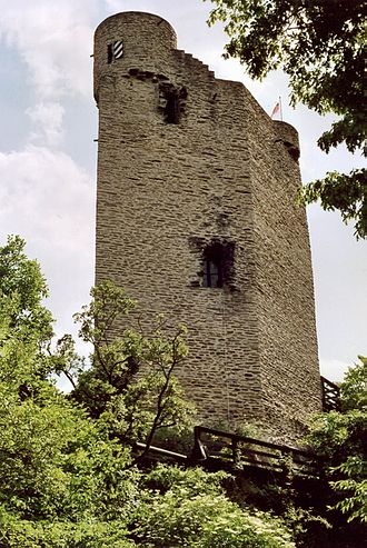 Laurenburg - Residential tower of Laurenburg Castle