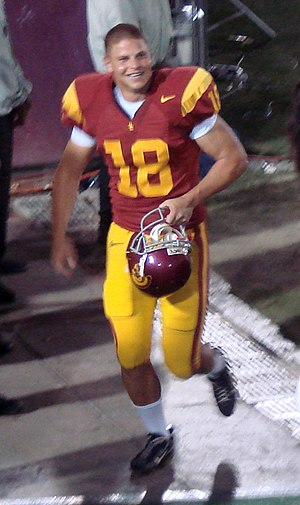 David Buehler - Buehler leaving the field after a 2007 USC game