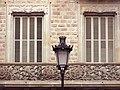 092 Casa Ramon Casas, pg. de Gràcia 96 (Barcelona), balcó i fanal.jpg