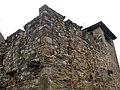 094 Sant Esteve de la Doma, mur nord-oest i comunidor.jpg