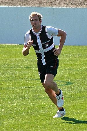 Jason Gram - Image: 1. Jason Gram, St Kilda FC 02