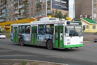 Bratsk - Trolleybus