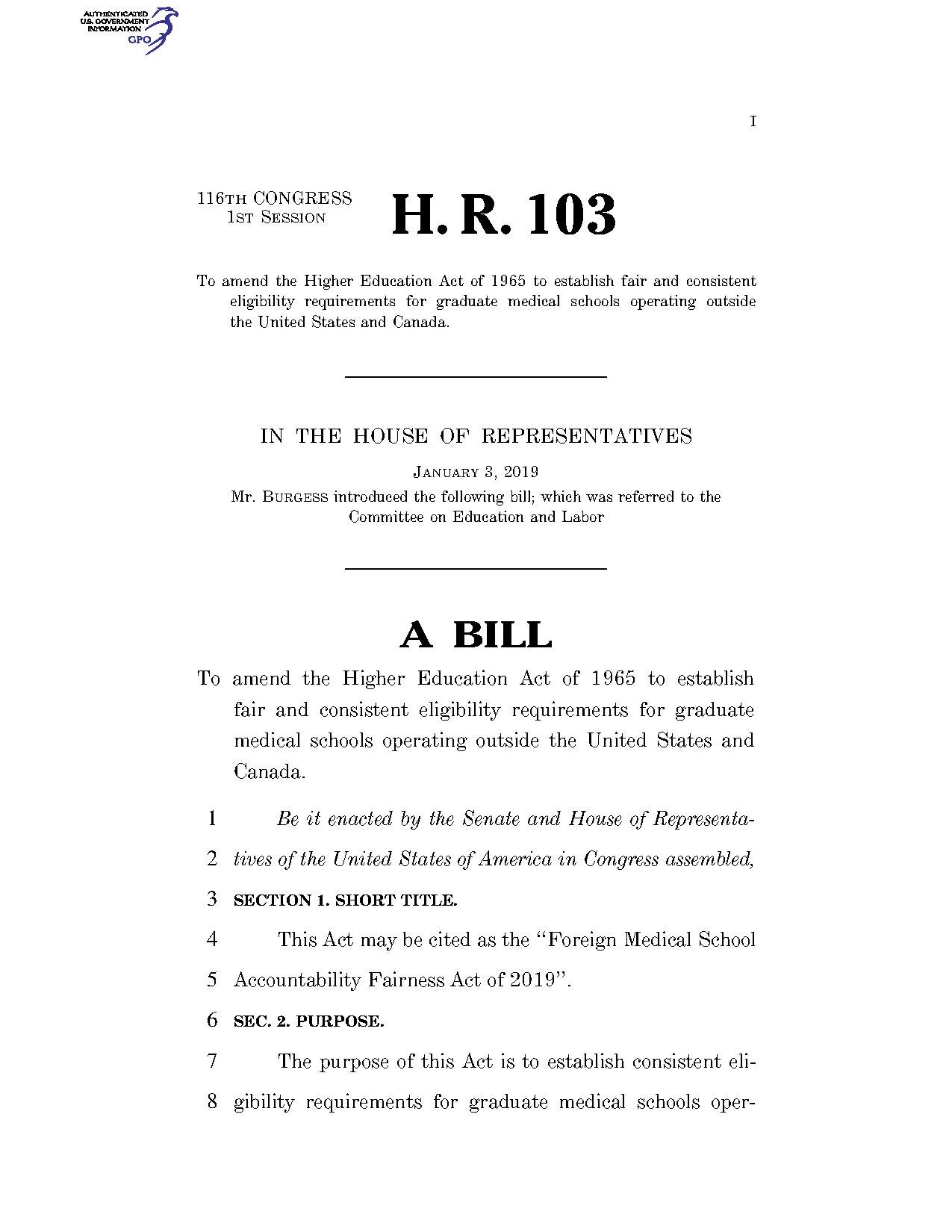File:116th United States Congress H  R  0000103 (1st session