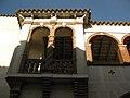139 Casa de la Vila d'Hostalric, antic convent dels Mínims, tribuna.jpg