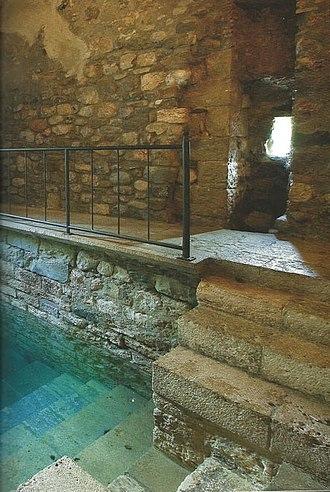 Mikveh - A medieval mikveh in Besalú, Spain