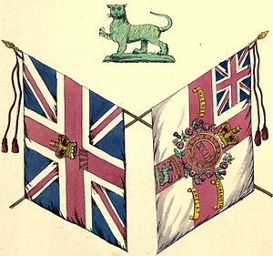 Royal Leicestershire Regiment - Colours of the regiment