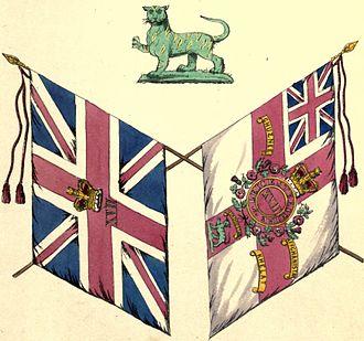 Royal Leicestershire Regiment - Colours of the regiment