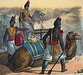 1811 Persian Zembouraki Camel Artillery.jpg