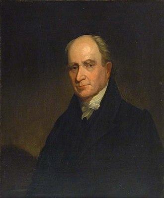 William Valentine (painter) - Image: 1825c John Howe