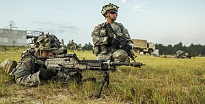 Massachusetts National Guard - Massachusetts National Guard Soldiers during Annual Training (JRTC, Ft. Polk, Louisiana).