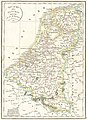1831 Félix Delamarche map of the United Kingdom of the Netherlands.jpg