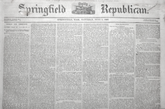 The Republican (Springfield, Massachusetts) - Springfield Republican, 1865
