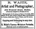 1868 Waitz Photographer BostonDirectory.png