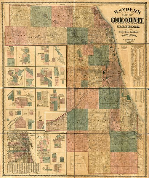 File:1886 Snyder's real estate map of Cook County, Illinois ... on illinois pipeline map, illinois travel map, illinois state parks map, illinois economy map, illinois township map, illinois sites of interest map, illinois agriculture map, illinois road conditions map, illinois enterprise zone map, illinois electric service map, illinois weather map, illinois brewery map, illinois neighborhood map, illinois managed care map, illinois geography map, illinois high speed rail map, illinois casinos map, illinois road construction map, illinois electric utilities map, illinois atlas map,